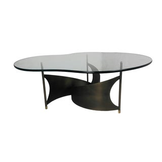 Mid-Century Propeller Base Coffee Table