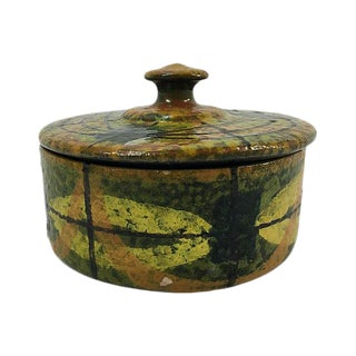 Mid-Century Italian Ceramic Lidded Box