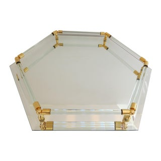 Lucite & Mirror Vanity Tray
