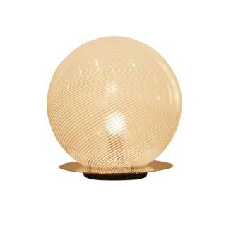Venini Glass Globe Modernist Table Lamp
