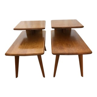 Heywood Wakefield Matching Side Tables - A Pair