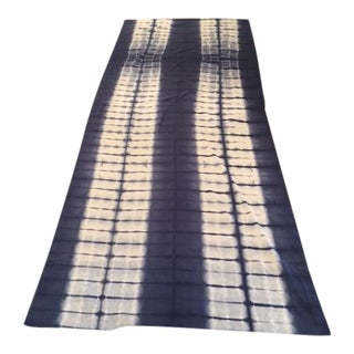 Indigo Blue Tie-Dyed Fabric