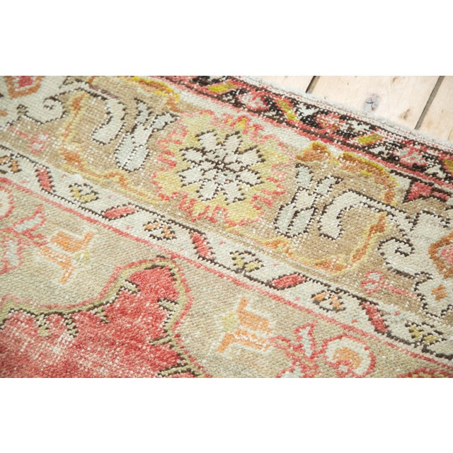 "Vintage Oushak Distressed Carpet - 4'10"" X 8'2"" - Image 6 of 10"