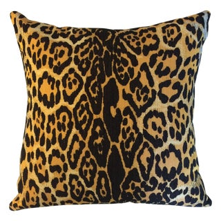 Outdoor Leopard Pillows - A Pair