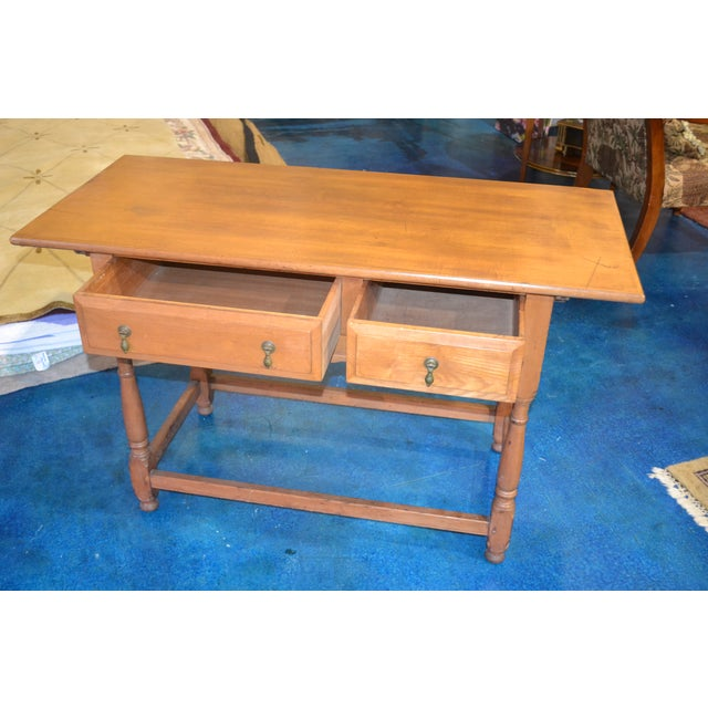 Vintage Country Console Table - Image 3 of 4