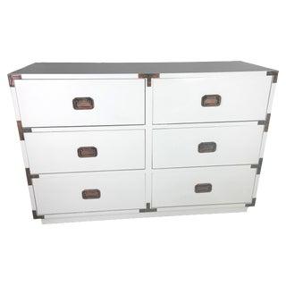 Vintage Mid-Century Modern Campaign Dresser