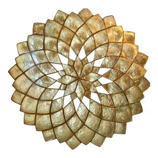 Capiz Shell Decorative Tray