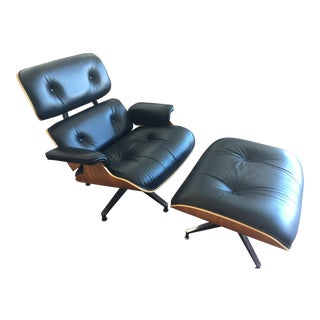 Eames Mid-Century Lounge Chair & Ottoman