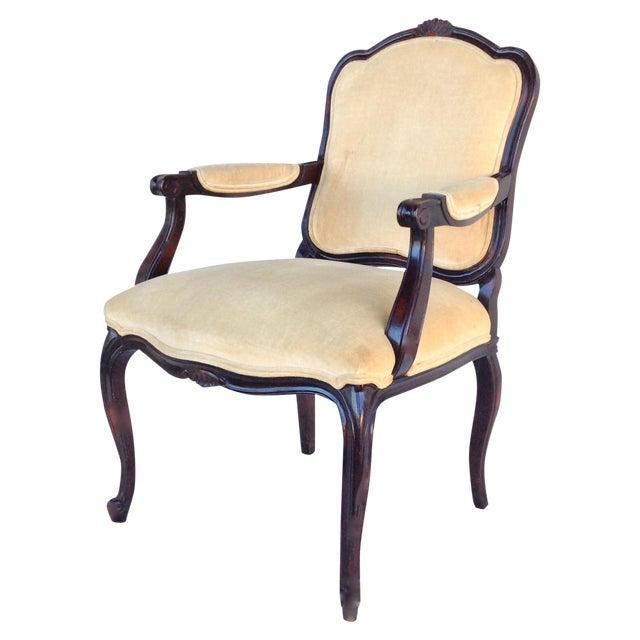 century furniture louis xv fauteuil arm chair chairish. Black Bedroom Furniture Sets. Home Design Ideas