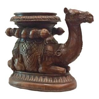 Moroccan Camel End Table or Garden Stool
