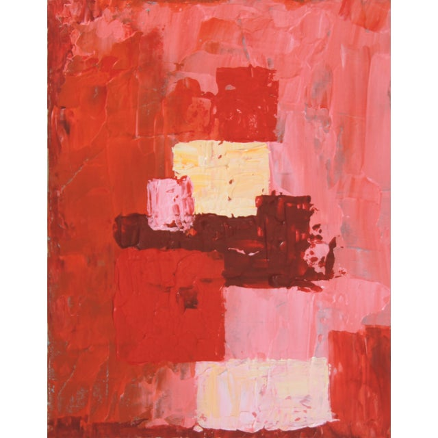 Box Arrangement #10 Abstract Painting - C. Plowden - Image 1 of 2