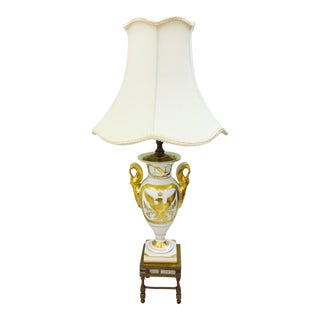 Antique Gilded Napoleonic Lamp