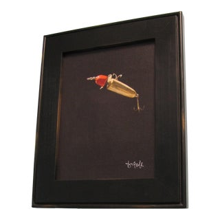 David Tuck Red Lure Signed Print