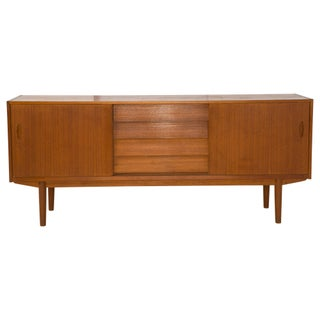 Nils Jonsson Danish Modern Louvered Credenza