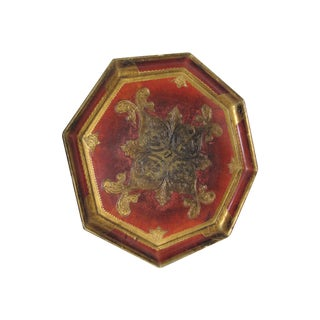 Octagon Shaped Florentine Tray
