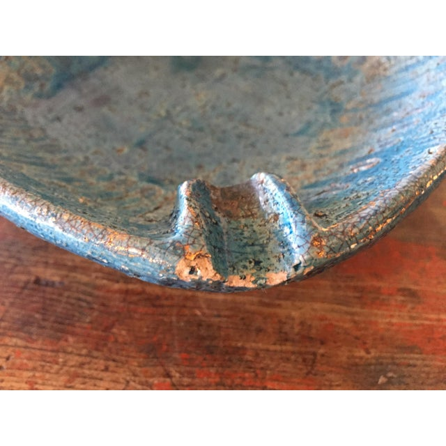 Image of Bitossi Blue Bowl From Italy