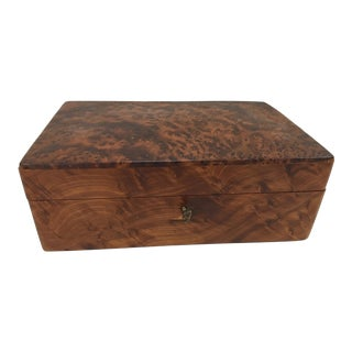 Thuja Burlwood Box & Key