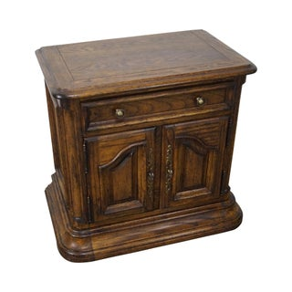 Century French Country 1 Drawer Cabinet Nightstand