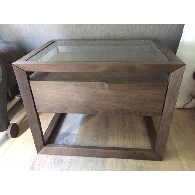 Modern Style Wooden Nightstand - Image 2 of 7