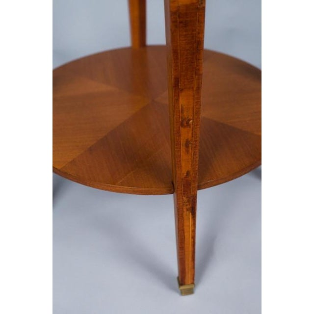 1900s French Louis XVI Style Mahogany Side Table - Image 6 of 10