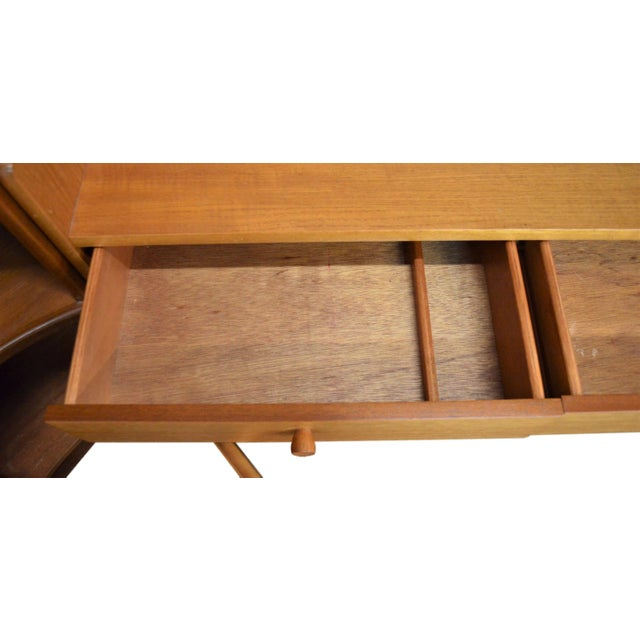 Mid Century Teak Wall Unit By Nathan Furniture - Image 4 of 11