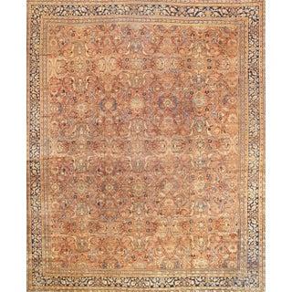 """Antique Persian Mahal Rug- 12'10"""" X 17' 0"""""""