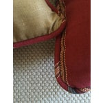 Image of Red Southwestern Stripe Pillows - A Pair