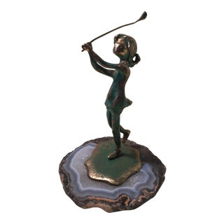 "Malcom Moran ""Girl Golfer"" Figure"
