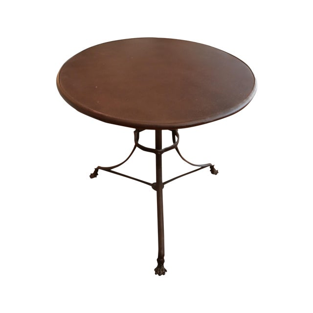 Restoration Hardware Lion's Foot Brasserie Table - Image 1 of 4