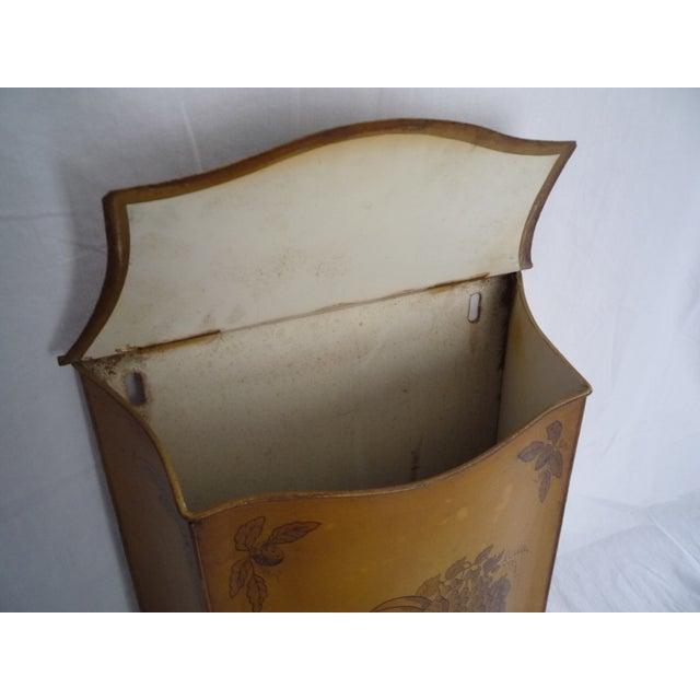 Vintage French Tole Painted Lavabo - Image 5 of 6