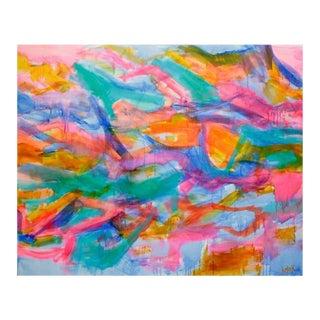 'Sheer Joy' Abstract Painting