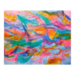 'Sheer Joy' Abstract Painting