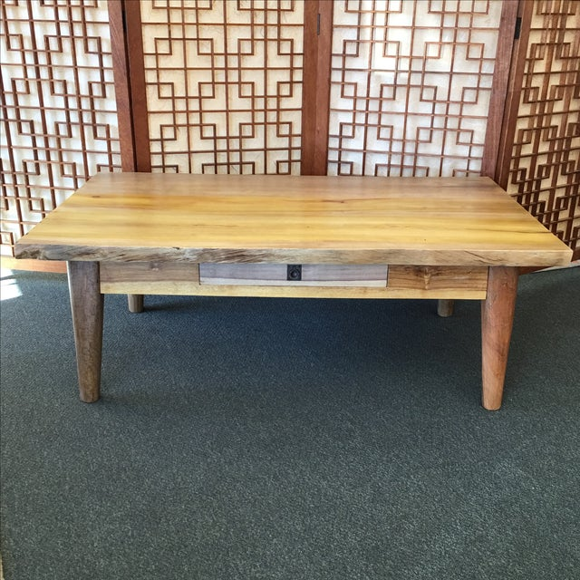 Salvaged Wood Cocktail Table - Image 3 of 10
