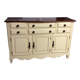 Solid Wood Sideboard/Server/Buffet by Drexel (Part of a Set/Entire Set Offers Welcome, See Listing Below)
