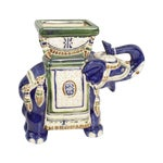 Image of Blue Elephant Planter