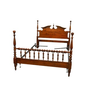 Vintage Cherry Queen Spindle Poster Bed