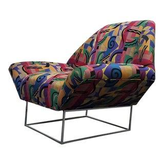 Milo Baughman Style Mid-Century Lounge Chair
