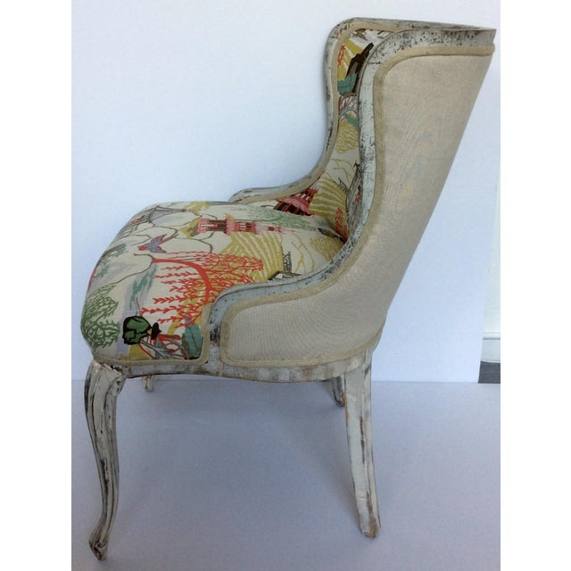 Antique Upholstered Chair - Image 6 of 8