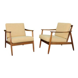 Mid-Century Lounge Chairs - A Pair
