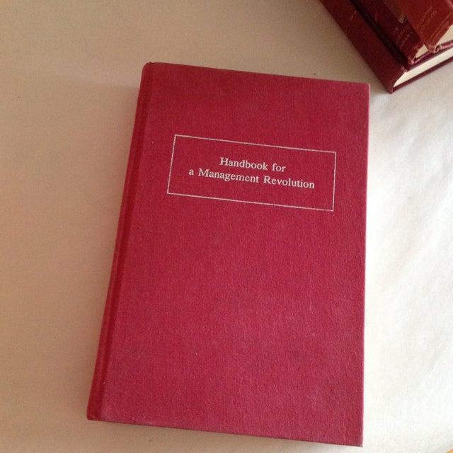 Red Antique Collected Books - Set of 5 - Image 10 of 11