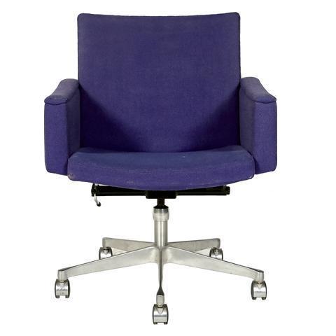 1960s ring mekanikk norway rolling desk chair   chairish