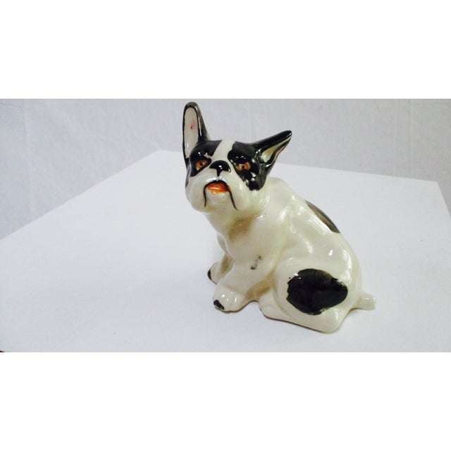 Vintage Ceramic French Bulldog - Image 2 of 7