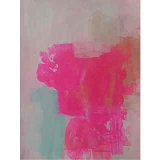 """""""Pink Pink #10"""" Original Painting by Susie Kate"""