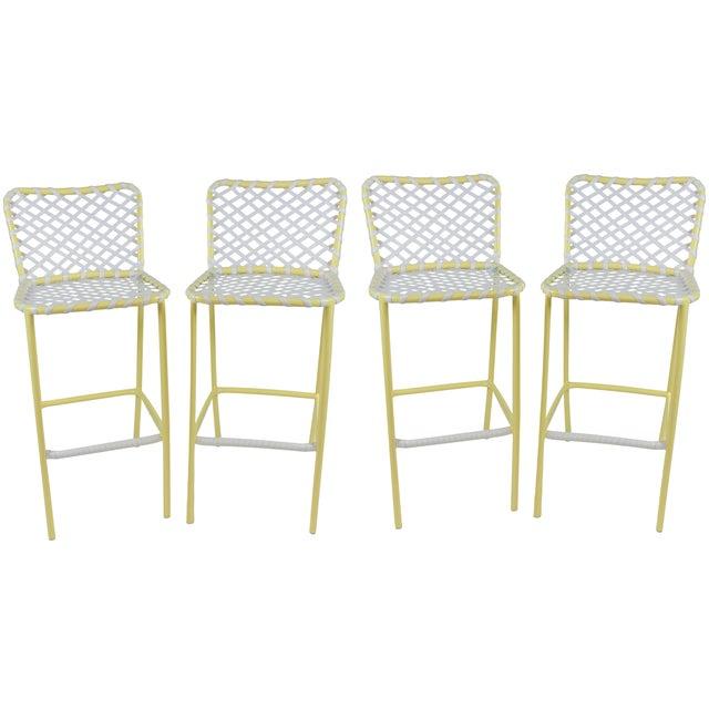 Brown jordan tamiami bar stools set of chairish