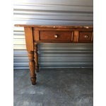 Image of Rustic Handmade Console Table
