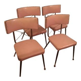 Mid-Century Modern Kitchen Chairs - Set of 4
