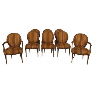 EJ Victor Regency Dining Room Chairs - Set of 8