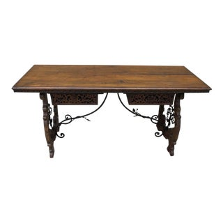 Early 19th Century Italian Partner's Desk