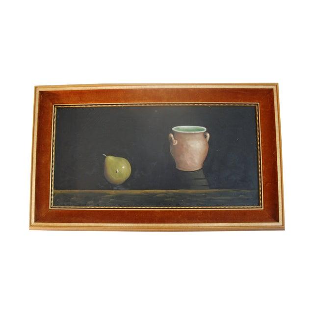 Mid-Century Framed Still Life Oil Painting - Image 1 of 6
