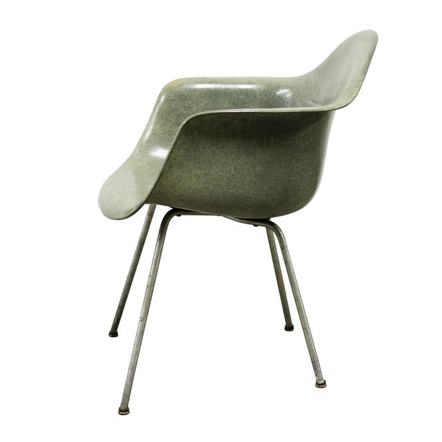 Herman Miller Eames Zenith Rope Edge Shell Chair - Image 4 of 8